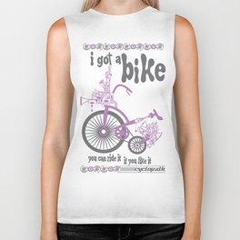 Syd's Space Bike Biker Tank