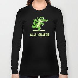 Alli-Skater Long Sleeve T-shirt