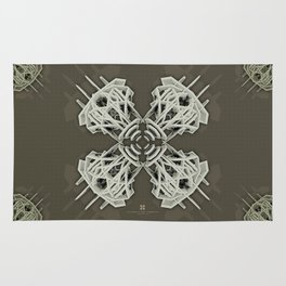 Calaabachti Arch Rosetta [synthetic version] Rug