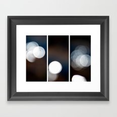 Dazed and Confused - Triptych Framed Art Print
