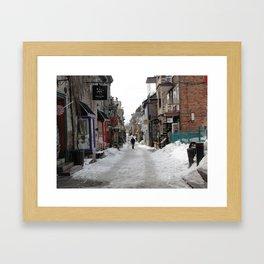 La Rue Framed Art Print