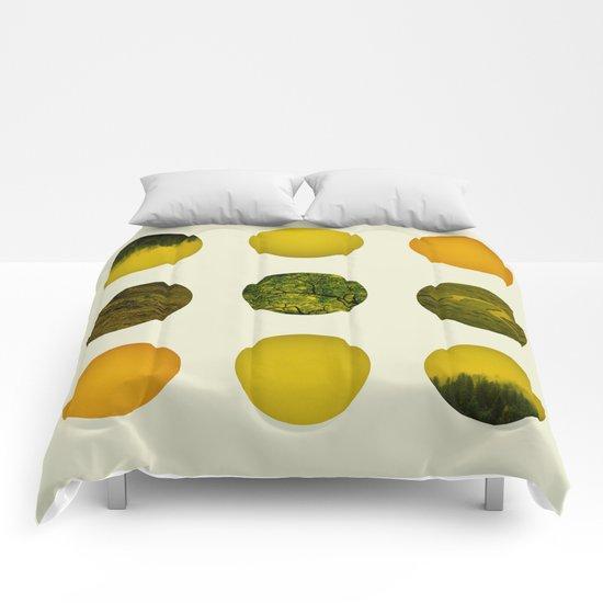 Earth Dot Pattern Comforters