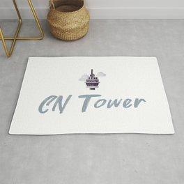 CN Tower souvenir Rug