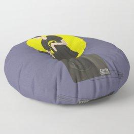 Tegan and Sara: Bategan #2 Floor Pillow