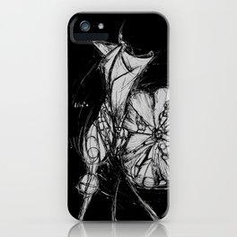Nature, men and women - Moonflower iPhone Case