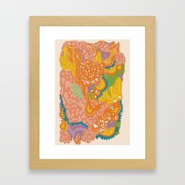 Kryptonitefunk Framed Art Print