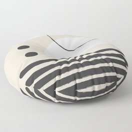 Abstract Modern Art Floor Pillow