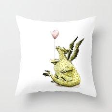 Little Dragon Throw Pillow