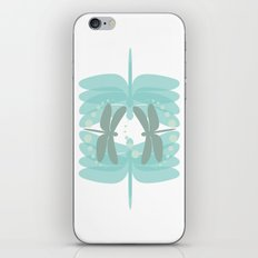 dragonfly pattern 4 iPhone & iPod Skin