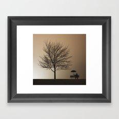 Love Lost Framed Art Print