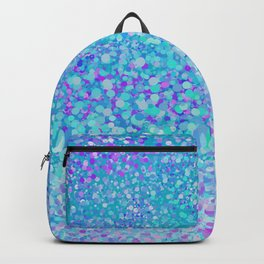Turquoise fiesta dots Backpack