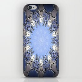 Polished Stone Metal Element Mandala iPhone Skin