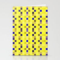 """pixel Stationery Cards featuring """"Pixel"""" by Mr & Mrs Quirynen"""