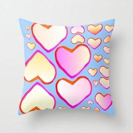 Heart of love Throw Pillow