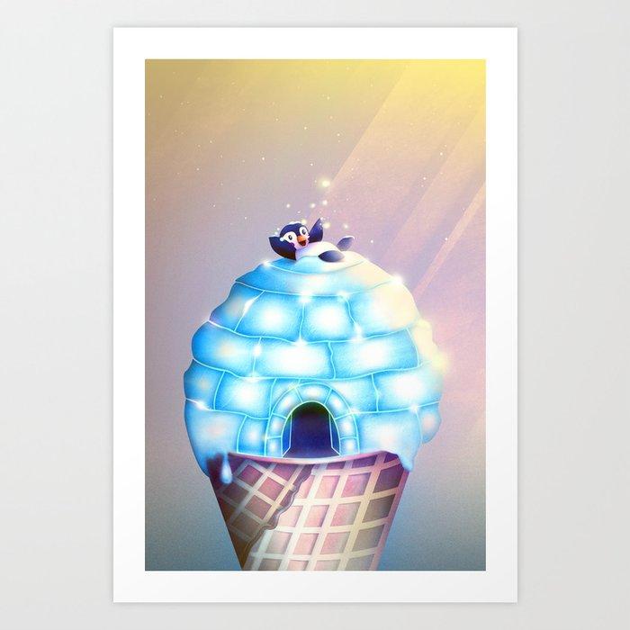 Igloo Flavour Art Print