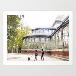Palacio de Cristal del Retiro Art Print