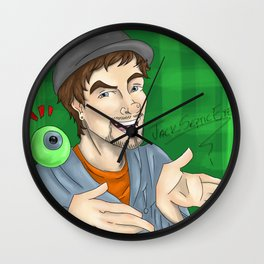 JackSepticEye and Septiceye Sam Wall Clock