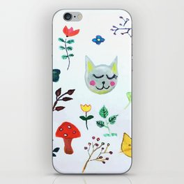 Party in the Garden iPhone Skin
