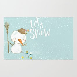 let it snow 5 Rug