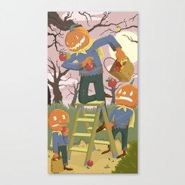 Halloween Family Fun Canvas Print