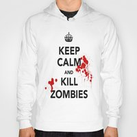 zombies Hoodies featuring ZOMBIES by Tania Joy