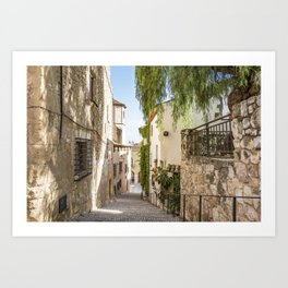 Beautiful Spanish Village Art Print
