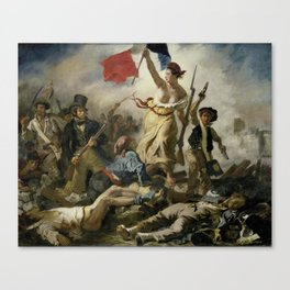Liberty Leading the People (High Resolution) Canvas Print