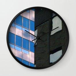 Manhattan Windows - Horizon Wall Clock