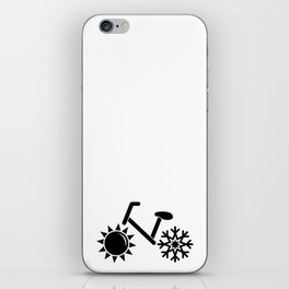 Weather or Not Bike iPhone Skin