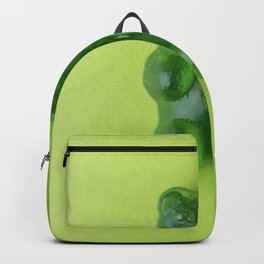 Green Gummy Bear Backpack
