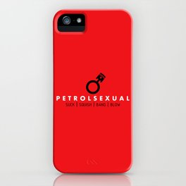 PETROLSEXUAL v1 HQvector iPhone Case