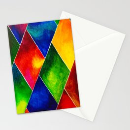 GEOMETRIC BRIGHTS #4 Stationery Cards