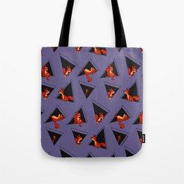 squirrel pack Tote Bag