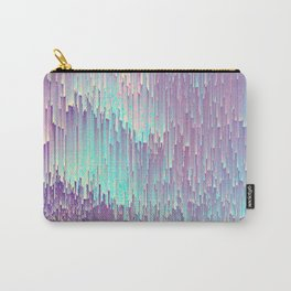 Iridescent Glitches Carry-All Pouch