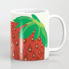 Square Strawberry Coffee Mug