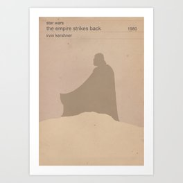 The Empire Strikes Back (Old) Art Print