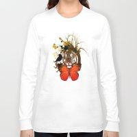 animals Long Sleeve T-shirts featuring animals  by mark ashkenazi