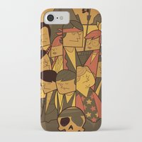 goonies iPhone & iPod Cases featuring The Goonies by Ale Giorgini