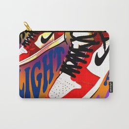 Psychedelic Sneakers Carry-All Pouch