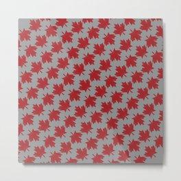 Canadian Pattern Metal Print