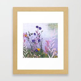 Next to the River Framed Art Print