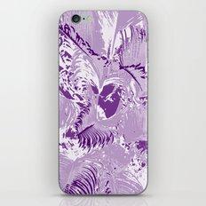 The mask - purple iPhone & iPod Skin