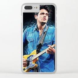 John Mayer Clear iPhone Case