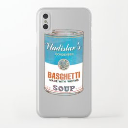 What We Do In the Shadows: Do You Like Basghetti? Clear iPhone Case