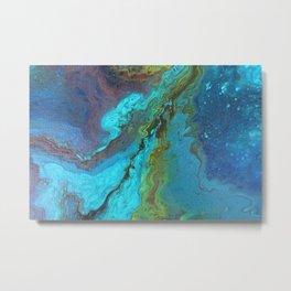 Ocean Mix A1 Metal Print