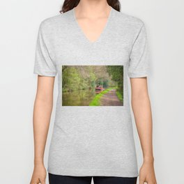 Leeds and Liverpool Canal Unisex V-Neck