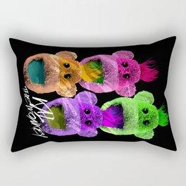 Kal the Monkey - Kal Warhol Rectangular Pillow