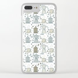 For coffee lovers Clear iPhone Case