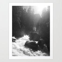 Mist Trail Art Print