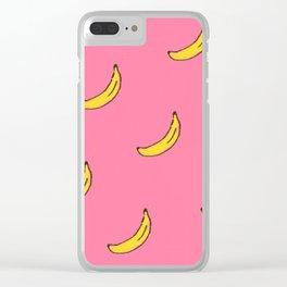Banana Fruit Clear iPhone Case